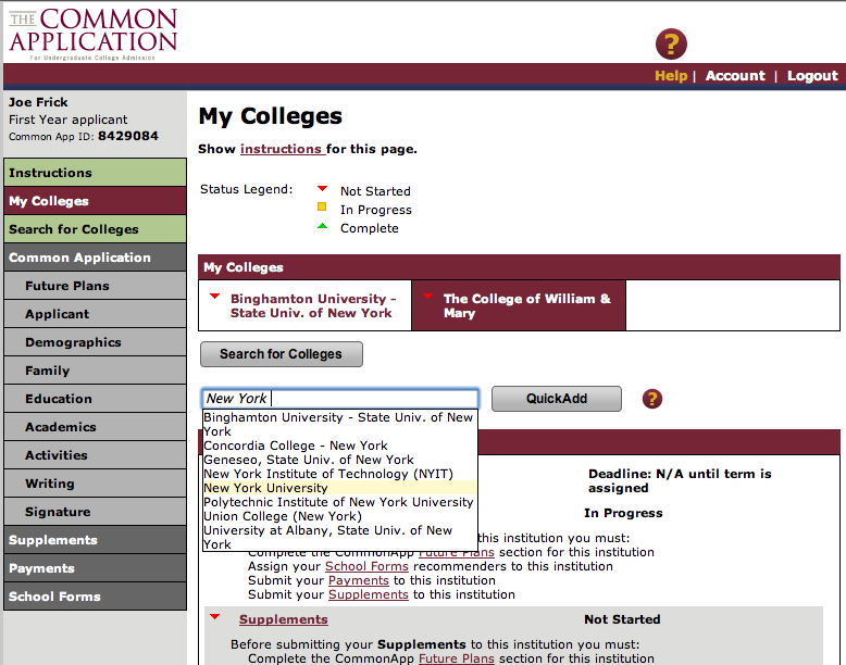 the common application everything you need to know mva college  the