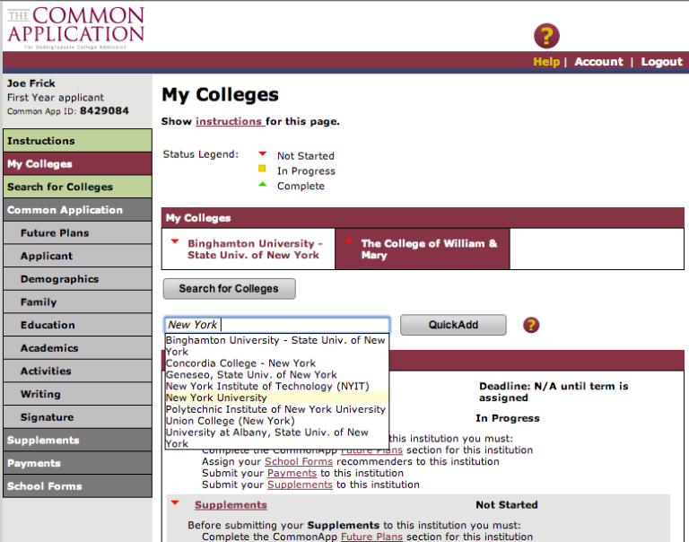 common app essay instructions Common application instructions read the instructions provided, type your essay and after review  including a video tutorial on the common application.